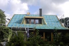 Dachsanierung Bauphase